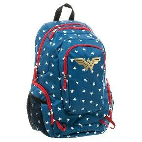 DC Comics Wonder Woman Commuter Backpack - Blue : Target