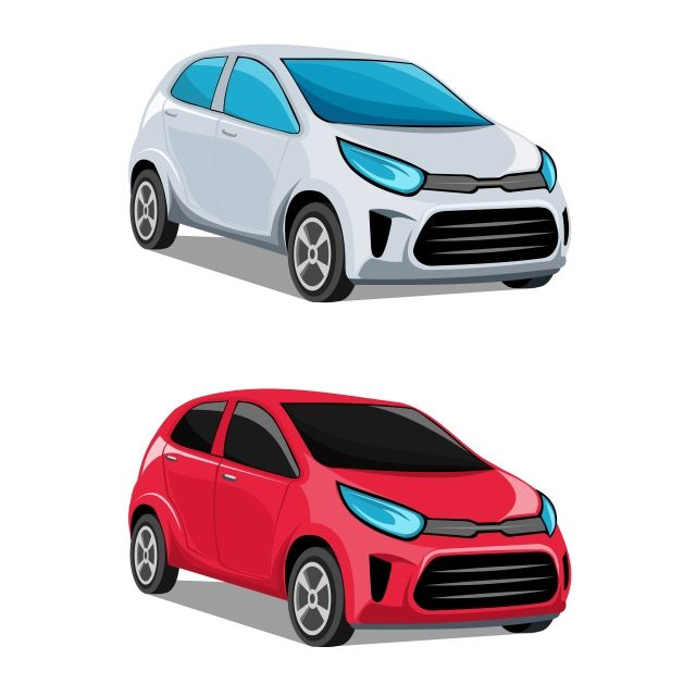 Modern Cars Vector 3d Above Auto Png And Vector With