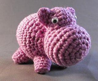 Hippo Amigurumi - Free Pattern - PDF Download