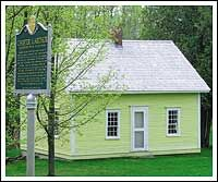 Replica of birthplace of Chester A. Arthur, Fairfield, Vermont