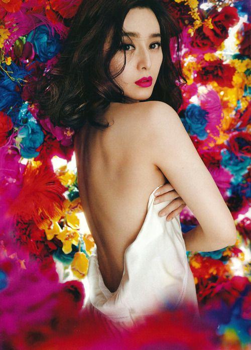 Perhaps she's a Korean or Taiwanese actress.