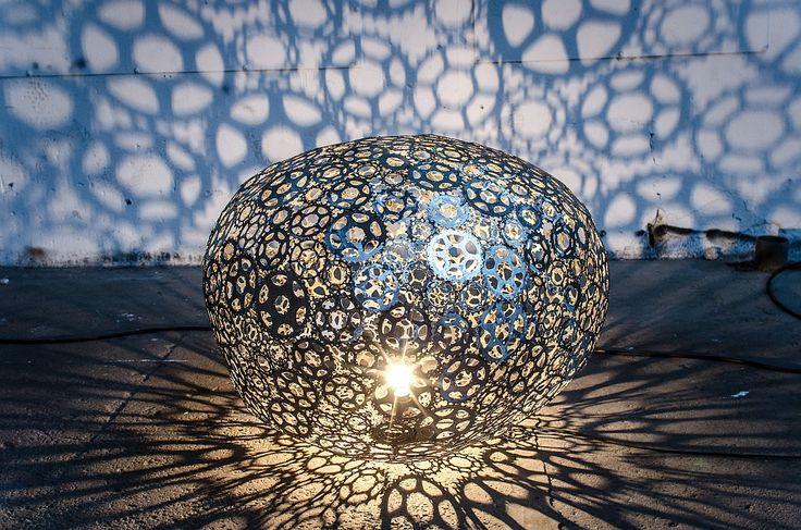 radlbazi - Leuchten aus Fahrrad-Schrott