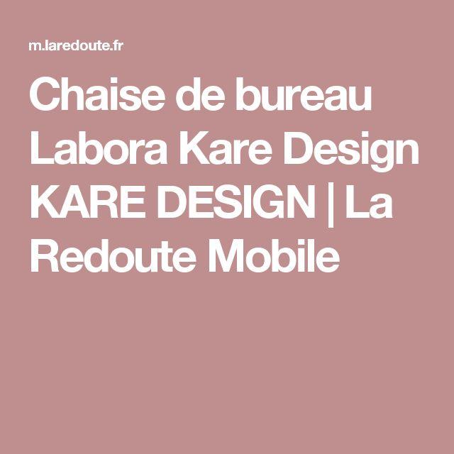 25 best ideas about chaise de bureau design on pinterest - La redoute chaise de bureau ...