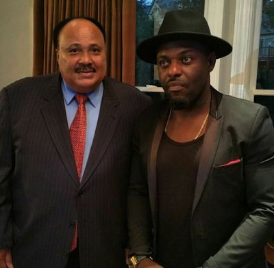 Welcome To Chitoo's Diary.: Guess What ????  Jim Iyke meets Martin Luther King...