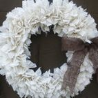 Primitive Christmas Wreath by Down in the Boondocks - eclectic - holiday outdoor decorations - by Etsy