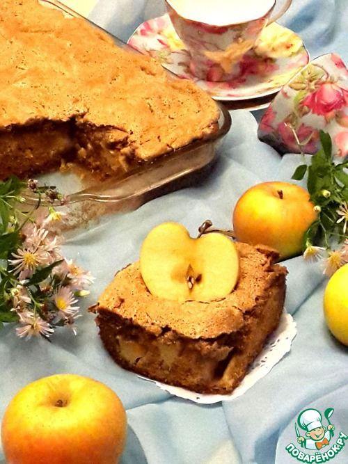 """344-10. Яблочный пирог с халвой """"Застенчивая Лейла""""."""