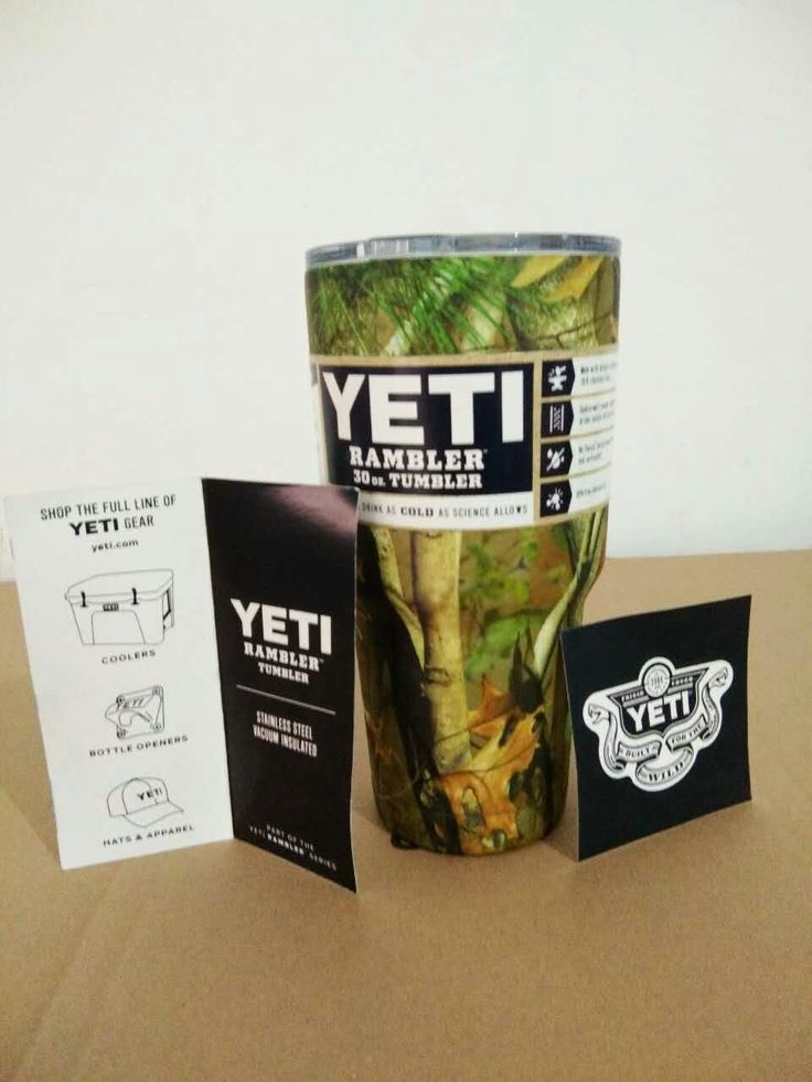 YETI Sports Water Bottle Camo 30oz YETI Tumbler Rambler Cups Large Capacity Stainless Steel Cars Coffee Thermos Mugs Free ship