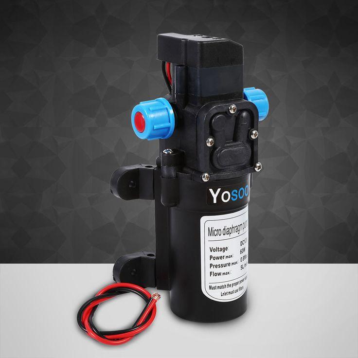 DC12V Hochdruck Membranpumpe Wasserpumpe Automatisch Pumpe 5L/Min 115PSI 60W ALI   Auto & Motorrad: Teile, Spezielle Fahrzeug-Teile, Reisemobil- & Caravan-Teile   eBay!