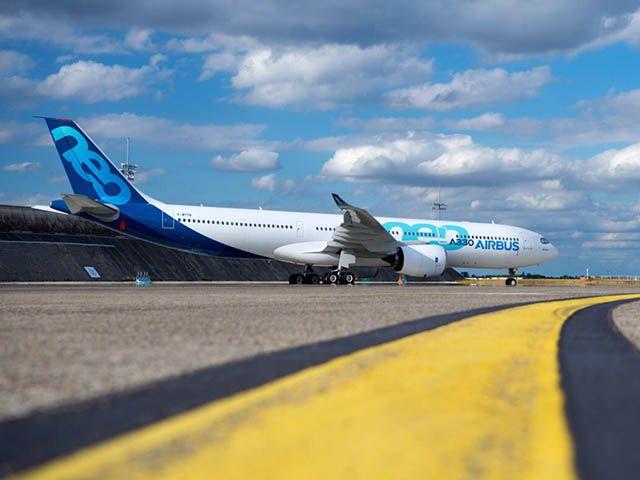 Airbus : A330neo prêt à décoller, 50e A350 assemblé en 2017