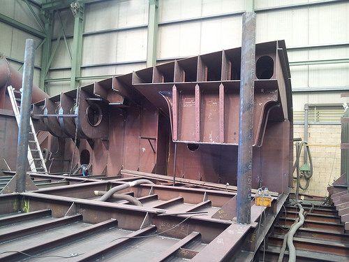 Manufacturing for Zamakona Pasaia Shipyards - Block