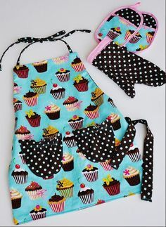 Looking for your next project? You're going to love Mini Me Apron Set by designer Punk Mom. - via @Craftsy