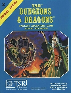 Dungeons and Dragons Expert set.  PDF now available from Wizards of the Coast.   Adventures & Shopping: Archive