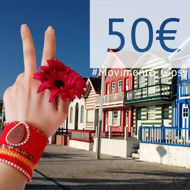 Ganha 50€ em compras na Maparim participando no #Movimento_Gipsy