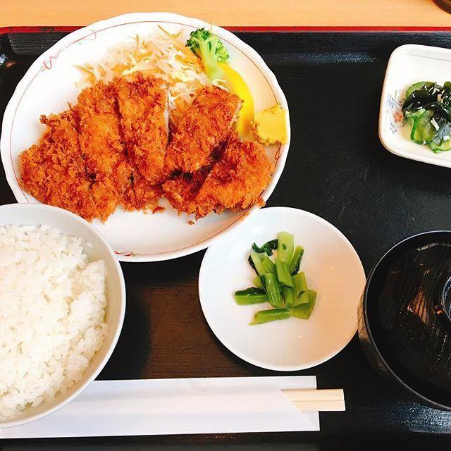 #japan #happy #lunch #巣鴨#駒込 #昼食 #meet #肉 #カツ  今日はカツ!!