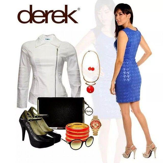 Look para trabajar, salir a rumbear o simplemente disfrutar tiempo con tus amigos #dress #Mujer #mujeres #latina #fashion #moda #model #jacket #shoes #accesory #accesorio #goodlooking #pretty #cccuartaetapa #bucaramanga Derek