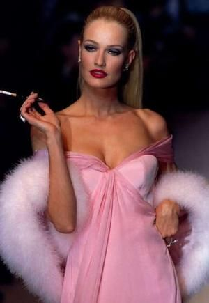 Karen Mulder -  Gianfranco Ferre' for Christian Dior 1995