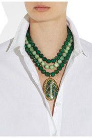 Rosantica Artemide Achat und Opal Halskette   – Jewelrymania