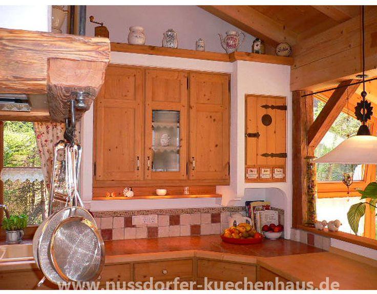 38 best Küche images on Pinterest Dream kitchens, Kitchen and - küche eiche rustikal