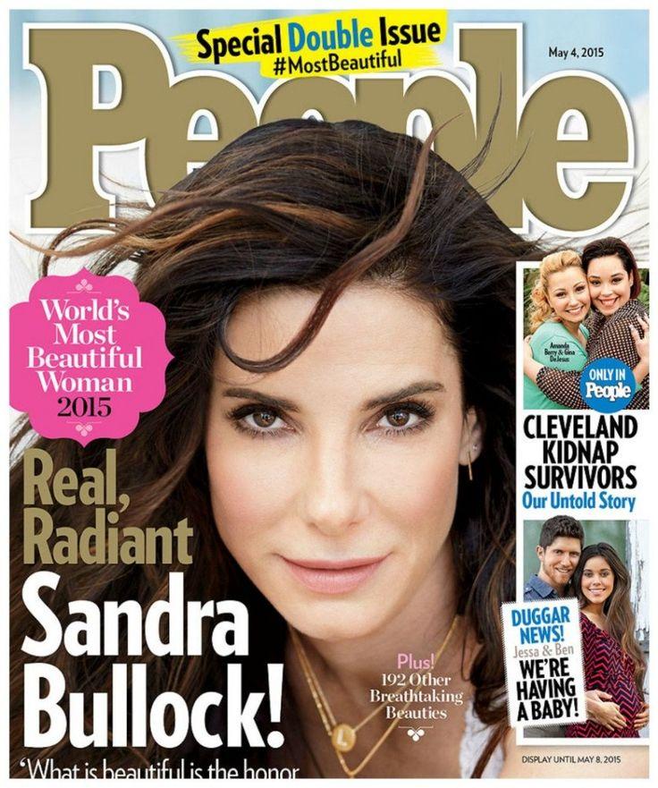 Sandra Bullock Is People Magazine's Most Beautiful Woman