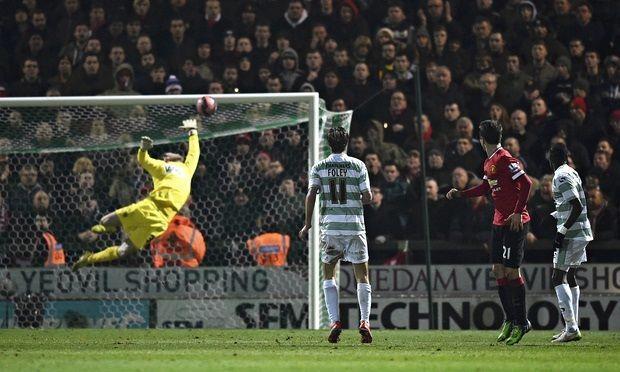Wspaniały gol Andera Herrery w Pucharze Anglii • Manchester United vs Yeovil Town • Ander Herrera oddał zaskakujący strzał • Zobacz >>