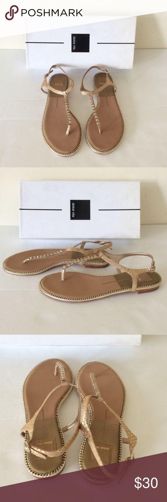 Dolce Vita Ensley Gold Dress Sandal 8 1/2 Dolce Vita Ensley Gold Dress Sandal 8 1/2 ❌ sorry no trades - price is firm even if bundled ❌ Dolce Vita Shoes Sandals