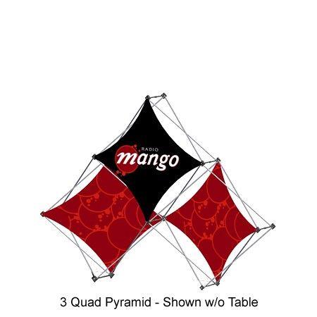 Xpressions XSnap 3 Quad Pyramid - A