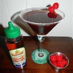 Kirstin's Favorite Black Cherry Martini - Allrecipes.com