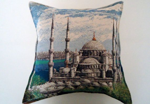 Pillow Cover for Home Decor Bohemian Ethnic Wool by BOHEMIANPILLOW, $65.00