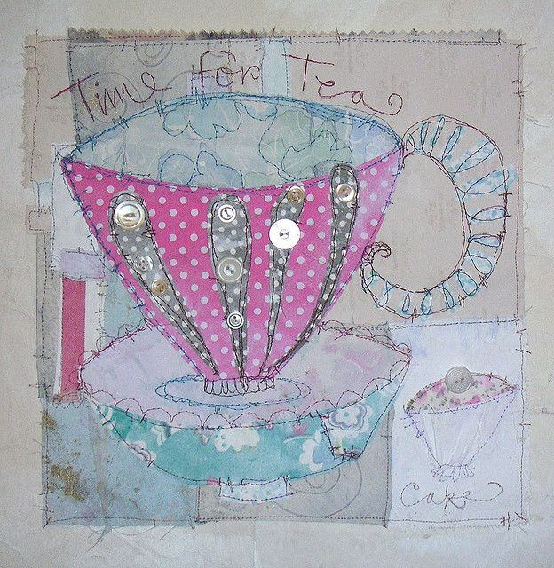 Pink Tea Cup by priscilla jones, via Flickr