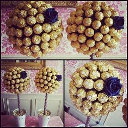 Candy Trees. These sweet trees make fabulous centrepieces on tables or just dotted around a party venue