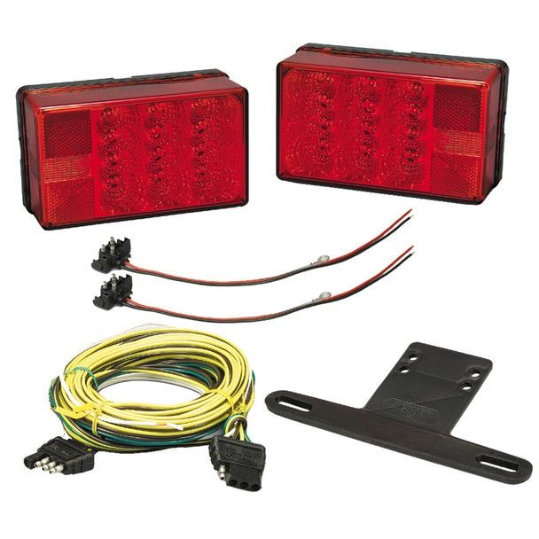 Wesbar 4 X 6 Led Trailer Light Kit 407560 Led Trailer Lights Waterproof Led Tail Light