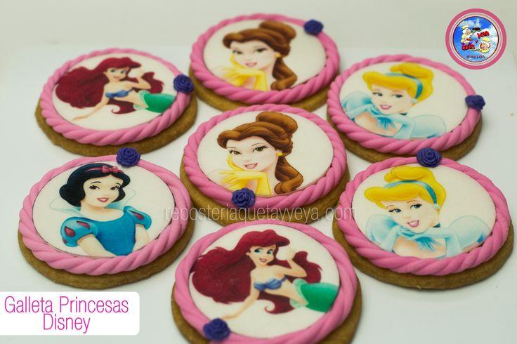 Galletas princesas - Princess cookies