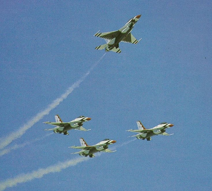 United States Air Force Thunderbirds:  Missing Man Formation