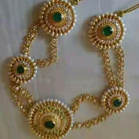 Rajputi jewellery shisful by kuldeep singh