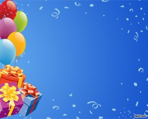 14 best happy birthday backgrounds for powerpoint images on, Powerpoint templates