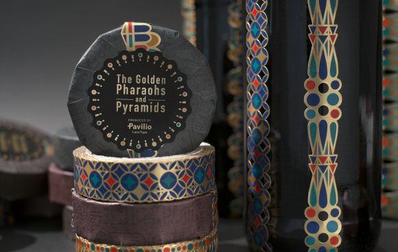 Pavilio EGYPT  サイズ:幅15mm×長さ10m 材質:紙 全5種 「黄金のファラオと大ピラミッド展」とのコラボ商品。 会場とWeb shopで限定販売中です。
