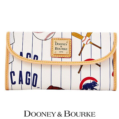 Chicago Cubs Continental Clutch by Dooney  Bourke - MLB.com Shop
