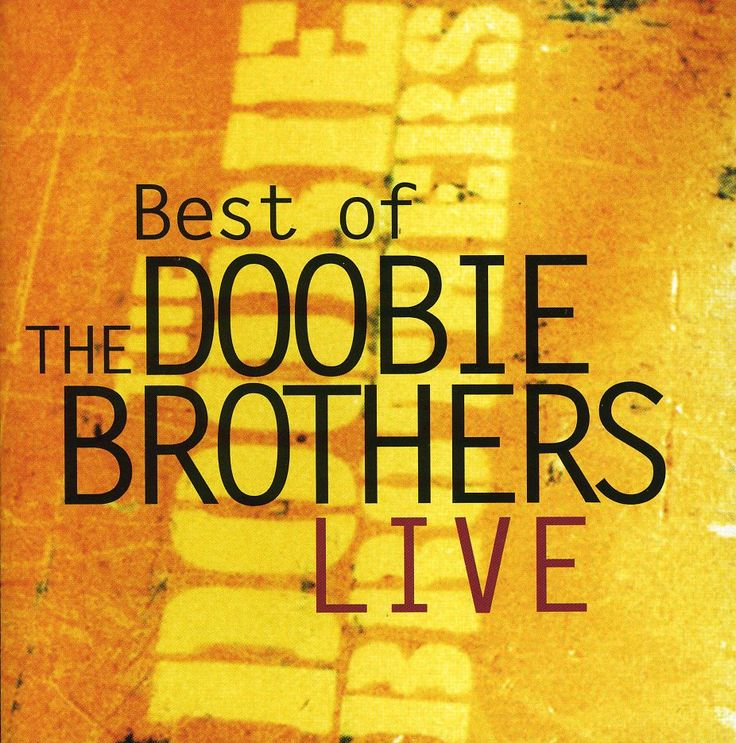 Doobie Brothers - Best of The Doobie Brothers Live, Black