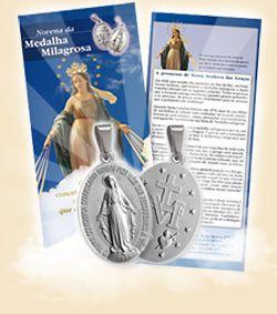 Medalha Milagrosa e Novena