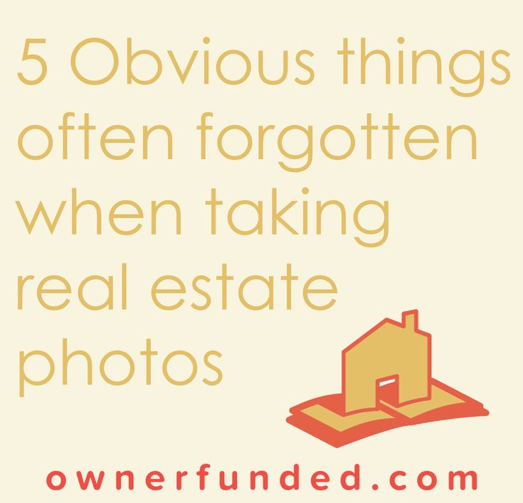 How to take real estate photos that will sell your house