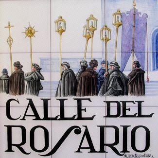 IMAGENES ANTIGUAS DE MADRID: CALLE DEL ROSARIO