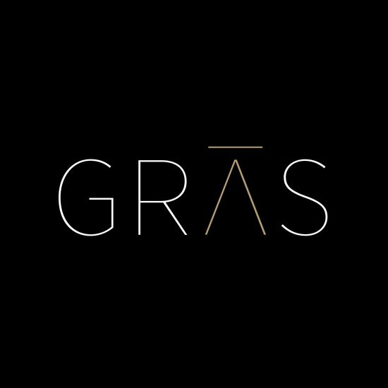 Logotype by Graphical House for Edinburgh based architectural practice Gras.