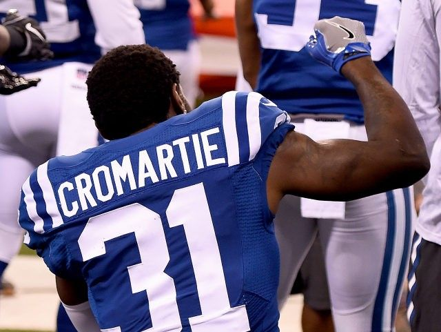 Colts Release Antonio Cromartie Two Days After He Kneels for National Anthem