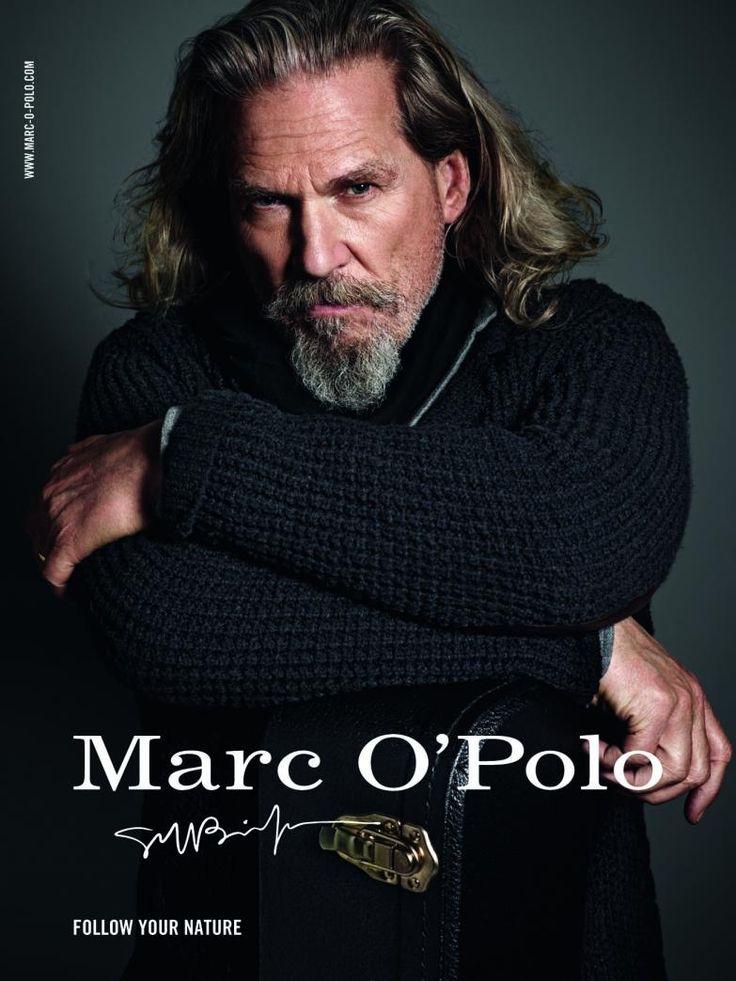Актер Джефф Бриджес в рекламе Marc O'Polo.