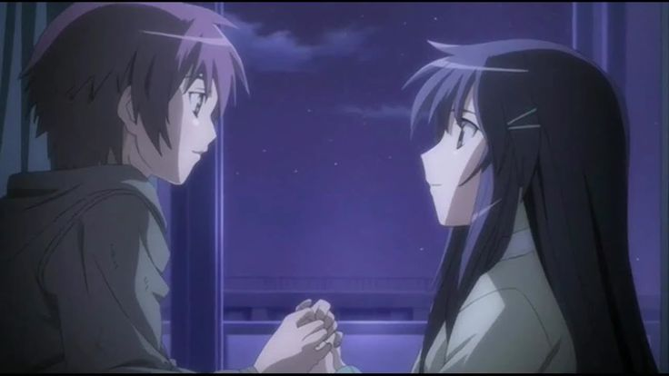 Hanbun no Tsuki ga Noboru Sora [ AMV ] - Here to Stay