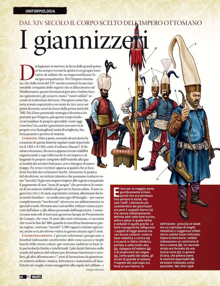 Janissaries, XIV c.