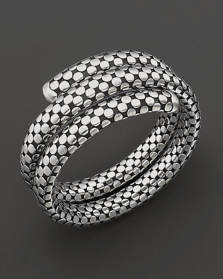 John Hardy bracelet inspired by a bike lock. Still my favorite piece.