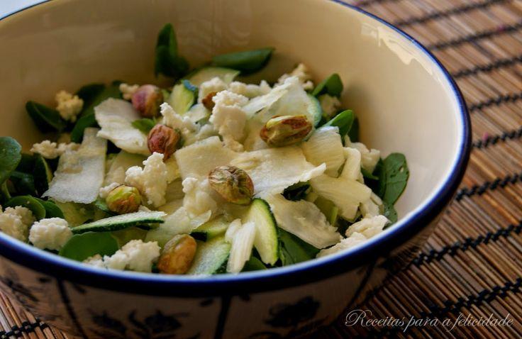 Receitas para a Felicidade!: Salada de Funcho e Curgete