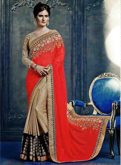 Best #Rajasthani #Sarees at @mokshafashions