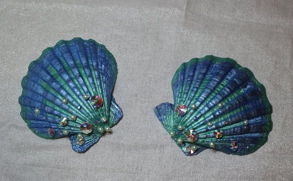 Mermaid Seashells for Cosplay or Decoration. Little ...